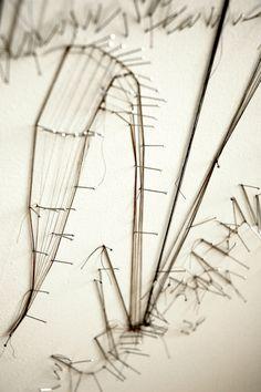 Drawing with Thread. Debbie Smyth.