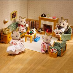 Calico Critters Deluxe Living Room Set « Blast Groceries