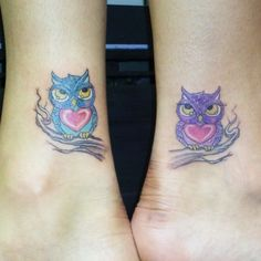 33 Best Friendship Tattoos Owls Images Friend Tattoos Friendship