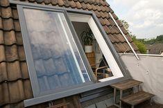 LiDEKO Fenster Balkonausstieg
