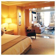 Mrs O around the world checks into @Four Seasons Hotel London at Park Lane