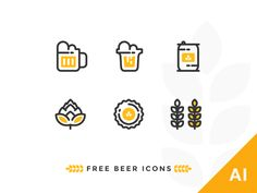 It's Wednesday which means we are halfway done with the week. Help yourselves to a weekend inspired free beer icon set to stay motivated. Cheers!  Worth checking out:  Icon Utopia    Icon Shop    P...
