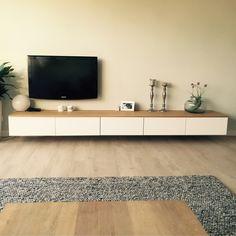 Tv Unit Interior Design, Flat Interior, Modern Luxury Bedroom, Luxurious Bedrooms, Ikea Wall Units, Home Living Room, Living Room Decor, Living Room Tv Unit Designs, Home Room Design
