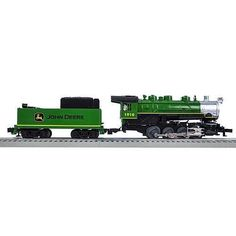 Lionel Trains John Deere Steam Lion Chief Ready-to-Run O-Gauge Train Set #lioneltrainsets
