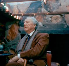 "Frank Lloyd Wright. ""Study Nature, love nature, stay close to nature, it will never fail you"""