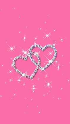 Pink And Silver Sparkly