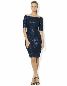 http://1tagdeals.com/fashion/shop/lauren-ralph-lauren-sequined-lace-dress-blue-8/