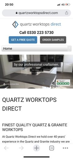 Granite Worktops, Work Tops, Free Quotes, Craftsman, Kitchens, Artisan, Granite Countertop, Kitchen, Cuisine