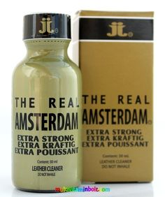 Amsterdam Special Extra Strong, The Real 30 ml - Rush, Poppers, Aroma Amsterdam, Strong, Personal Care, Self Care, Personal Hygiene