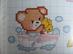Cross Stitch Baby, Cross Stitch Rose, Cross Stitch Flowers, Cross Stitching, Cross Stitch Embroidery, Cross Stitch Patterns, Corner To Corner Crochet Pattern, Cute Baby Sloths, Wool Baby Blanket
