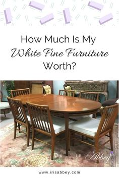 Mid Century Modern Furniture, Where Can I Donate My Dining Room Set