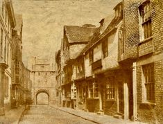 York Past & Present is a Historical and educational look at York's historical past. Old Pictures, Historical Photos, Old And New, Yorkshire, New York City, Britain, Medieval, The Past, Scenery
