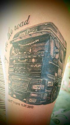 truck tattoos | Big Truck – Tattoo Picture at ...
