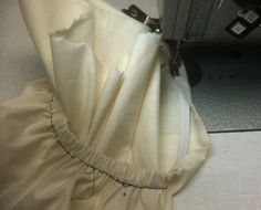 Tutorial from Fashion Incubator: a better way to sew elastic casings
