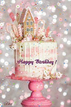 Happy birthday my daughter! Happy Birthday Flower, Happy Birthday Pictures, Birthday Fun, Birthday Cake Gif, Happy Birthday Beautiful, December Birthday, Birthday Wishes Cards, Happy Birthday Messages, Happy Birthday Greetings