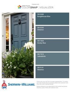 trendy ideas for farmhouse front door color trendy ideas for color doors for farmhouse front doors farmhouseModern masters express themselves from 1 qt. Satin Ambitious Red Water Based Front Door - The Farmhouse Front, Blue Paint Colors, Painted Front Doors, Exterior House Colors, House Paint Exterior, Paint Colors For Home, Exterior Door Colors, Painted Doors, Exterior Doors