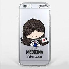 Capinha para celular Profissão Medicina