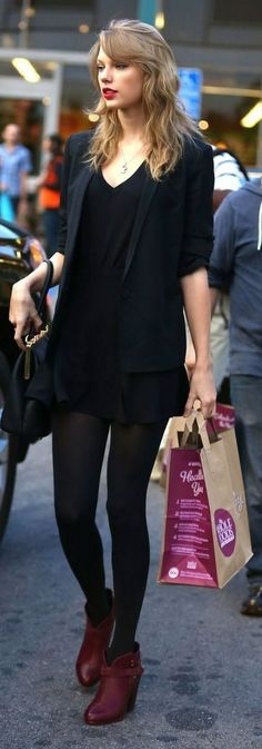 Taylor Swift and her bodyguard out shopping for antiques before stopping by Whole Foods for some groceries in Los Angeles