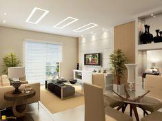 decoração apartamento pequeno sala simples - Pesquisa Google