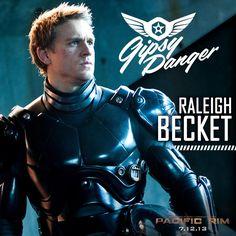 Charlie Hunnam is Jaeger pilot Raleigh Becket.