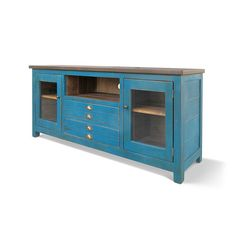 TV Stand Entertainment Console Farmhouse Media by RedRiverRusticks