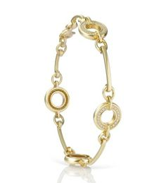 Boodles Classic Roulette Yellow Gold Diamond Bracelet