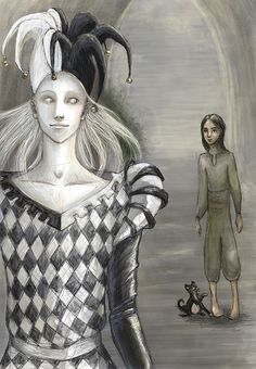 King Shrewd's new fool. by ThereseOfTheNorth.deviantart.com on @DeviantArt