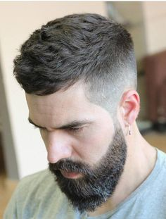 Best Mens Fade Haircuts Mens Hairstyles - Fade Haircuts And Hairstyles Have Been Very Popular Among Men For Many Years And This Trend Will Likely Carry Over Into And Beyond The Fade Haircut Has Generally Been Catered To Men With Short Mid Fade Haircut, Fade Haircut Styles, Hair And Beard Styles, Short Haircut, Curly Hair Styles, Haircut Men, Men Hairstyle Short, Short Hair Long Beard, Mens Hairstyles 2018 Short