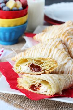 Guava and Cheese Pastry - so easy to make and so good!
