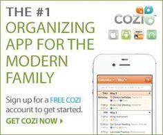 A great way to get your whole family organized! I LOVE Cozi!!!