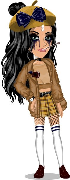 (~ Don& copy please ~) (Earlier look) Feelin& Aesthetic~ User. Msp Vip, Girly Outfits, Cute Outfits, Sims, Backrounds, Look Chic, Summer Girls, Aesthetic Clothes, Playing Dress Up