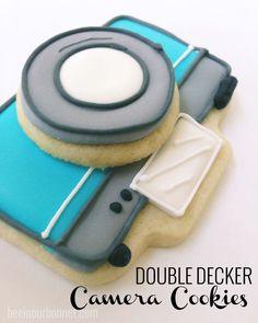 Double-Decker Camera Cookies