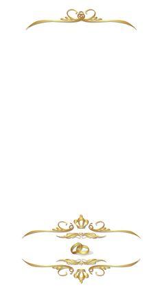Elegant Golden Ornamental Wedding Snapchat Filter | Geofilter Maker on FilterPop