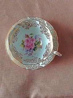 Vintage-Paragon-Tea-Cup-amp-Saucer-Rare