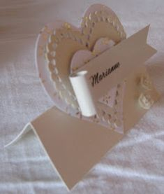 Place Cards, Place Card Holders, Blog, Handmade, Hand Made, Craft, Handarbeit