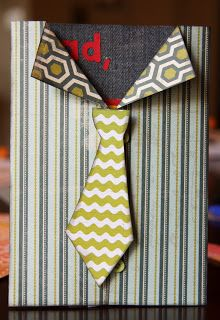 Cómo hacer #postal forma de #camisa con #corbata para #día del #padre  #HOWTO #DIY #ecología #reciclar #reutilizar