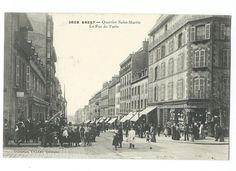 Maintenant rue Jean-Jaurès - Brest