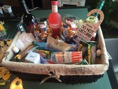 Honeymoon gift basket                                                                                                                                                                                 More