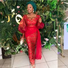 Ideal&Eazy % African Fashion Aso-Ebi Outfits For Occasion (Ideal&Eazy) Nigerian Lace Styles Dress, Aso Ebi Lace Styles, African Lace Styles, Lace Dress Styles, African Wear Dresses, Latest African Fashion Dresses, African Attire, Ankara Styles, African Style