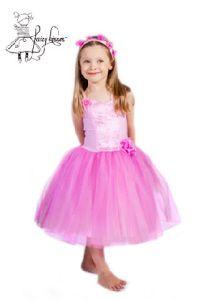 Fairy Kisses - Ballerina Dress (Rose): Size L (8-9). $52.80