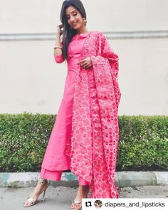 Image may contain: 1 person, standing and text Party Wear Lehenga, Party Wear Dresses, Phulkari Suit, Suit Shop, Lakme Fashion Week, Woman Clothing, Palazzo, Kurti, Saree