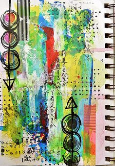 Love this art journal page!