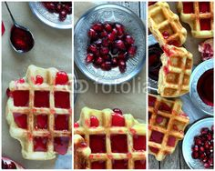#Waffles Collage #stock #photo @fotolia