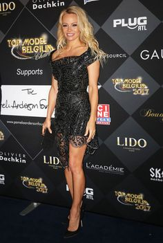 Pamela Anderson at top-model-belgium-2017-at-le-lido-in-paris