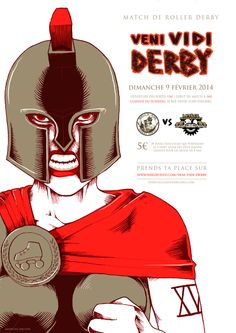 Hell's Ass Derby Girls VS Lutèce Destroyeuses #Roller Derby