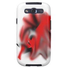 Phantasiesymbol schwarz/rot, verwaschen