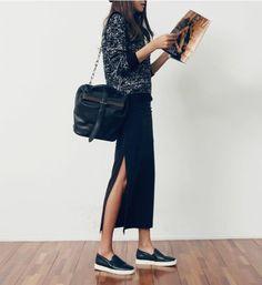 comment porter votre jupe maxi