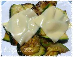 Adelgaza Con Susi: Calabacín con queso ( 150kcal)