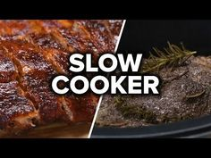 5 Hearty Slow Cooker Recipes – All Recipes Food Cooking Network Crock Pot Recipes, Beef Recipes, Cooking Recipes, Cat Recipes, Slow Cooking, Quick Recipes, Slow Cooker Recipe Videos, Slow Cooker Recipes, Tasty
