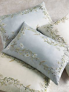 SFERRA Jolie Decorative Silk Pillow